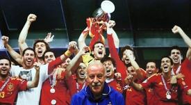 Del Bosque valoró el estado de la Selección Española. EFE/Archivo
