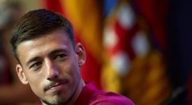 Lenglet est à présent joueur du Barça. EFE