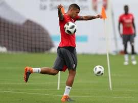 Peña marcó su primer gol con el Tondela. EFE