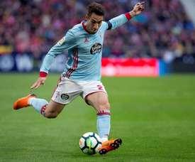 Hugo Mallo n'ira pas à Fulham. EFE