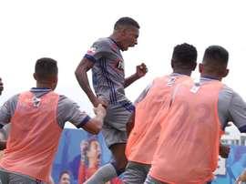 Emelec ganó 1-0 a El Nacional. EFE/Archivo