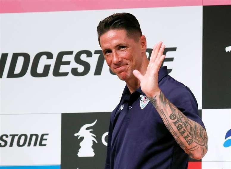 Fernando Torres evaluó al Atlético. EFE