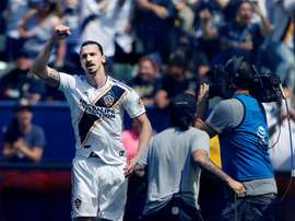 Zlatan a fait un grand match contre Philadelphie. EFE