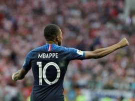 França acredita que o PSG libere Mbappé para as Olímpiadas. EFE