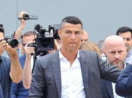 Cristiano cambió Madrid por Turín por 100 millones. EFE