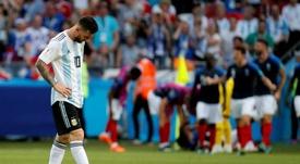Dificilmente Messi ganhará a sua sexta Bola de Ouro. EFE/Archivo