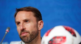 Southgate is optimistic for the future. EFE