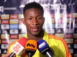 Jefferson Lerma was part of Colombia's World Cup squad. EFE