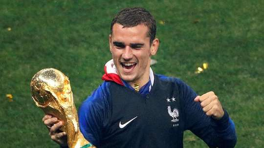 World Cup winner Griezmann says that a Frenchman should win the award this year. EFE