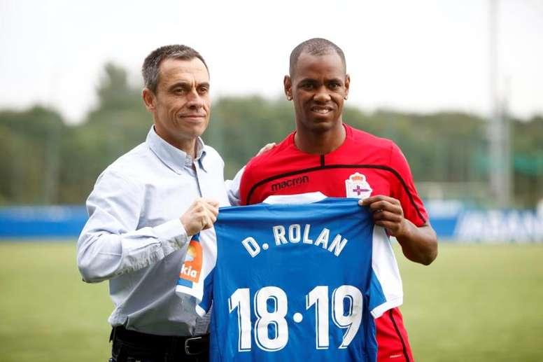 Rolan debutó al fin. EFE