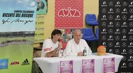 Del Bosque valoró positivamente la elección de Luis Enrique como seleccionador. EFE