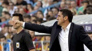 Manolo Jiménez confía en el ascenso. EFE/Archivo