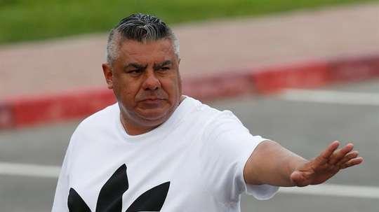 'Chiqui' Tapia quiere evitar polémicas con Maradona. EFE