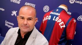 Paco López destacó las novedades de Setién. EFE/Archivo