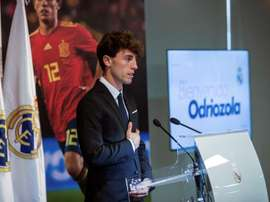 Odriozola was part of Spain's World Cup squad but did not play. EFE