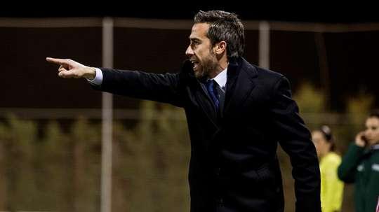Jorge Vilda destacó el gran momento que vive el fútbol femenino español. EFE