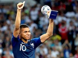 Mbappe's World Cup, young player of the tournament accolades were not enough to be shortlisted. EFE