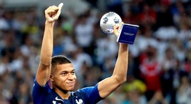 Kylian Mbappe shone at the 2018 World Cup for France. EFE