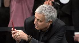 Mourinho expresa su opinión. EFE/Archivo