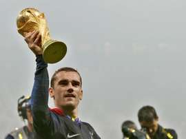 Griezmann n'a pas remporté le précieux Ballon d'Or. EFE