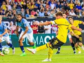 City est tombé contre Dortmund. EFE