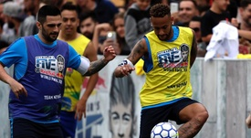 Neymar Jr picked his chosen five. EFE
