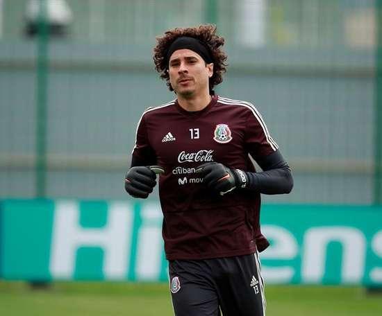 Ochoa souhaite jouer le Mondial 2022. EFE