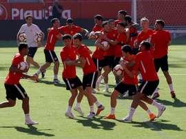 El Sevilla empieza lo serio. EFE