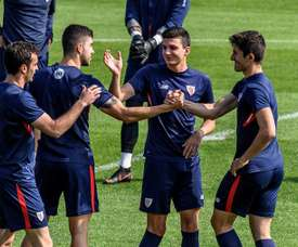 El club bilbaíno salió derrotado por 2-3. EFE