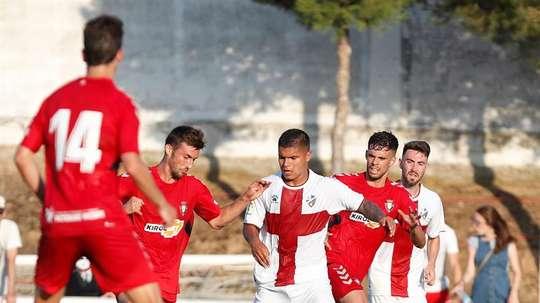 El Huesca se adelanta por Serdar Gürler. EFE