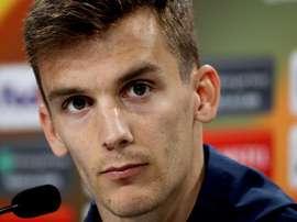 Diego Llorente no podrá seguir con España. EFE