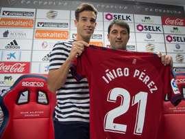El centrocampista estará ante el Lugo. EFE