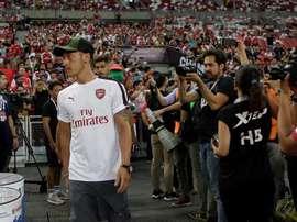 Mesut Özil renunció a seguir acudiendo a las llamadas de la selección. EFE