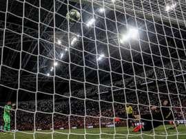 Adán s'est fait remarqué contre Arsenal. EFE