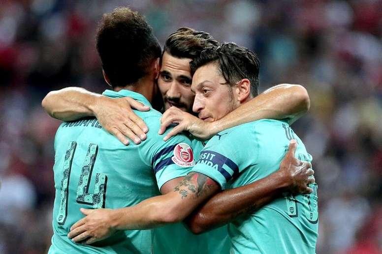 Le plan d'Arsenal pour Aubameyang. afp