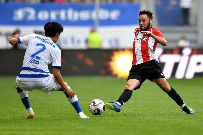 Unai López no juega desde el 16 de enero. EFE