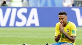 Neymar n'intéresse pas le Barça. EFE
