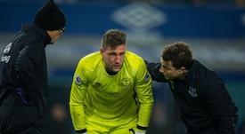 Everton pourrait libérer Stekelenburg en janvier. EFE/Archivo