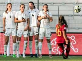 Llompart anotó el gol de la victoria en la final del europeo ante Alemania. EFE