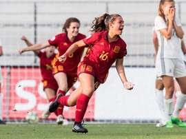 María Llompart firmó el gol de la victoria. SeFútbolFem