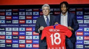 El presidente del Sporting quiere sacar lo máximo al Atlético por Gelson. EFE