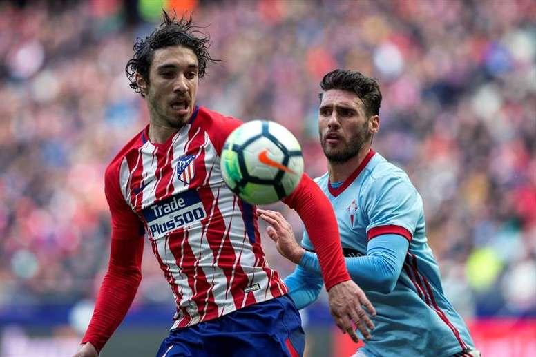 L'Atlético a publié la nouvelle sur ses réseaux sociaux. EFE