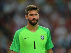 Alisson is now with Liverpool. EFE