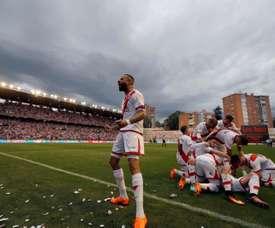El Rayo derrotó al Real Madrid Castilla. EFE/Archivo
