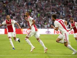 El Ajax no falló en su partido a domicilio. EFE