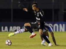 Nacional tumbó a Botafogo. EFE