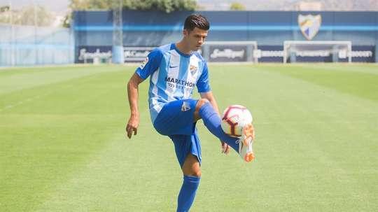 Héctor marcó uno de los dos goles en el amistoso. EFE