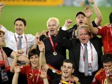 La Federación celebrará los diez años de la Eurocopa. EFE/Archivo