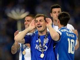 O Porto foi o campeão da temporada 2017/18. EFE/Archivo