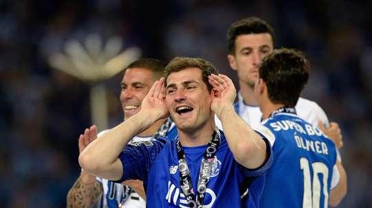 Casillas espera seguir en el Oporto hasta el día de su retirada. EFE